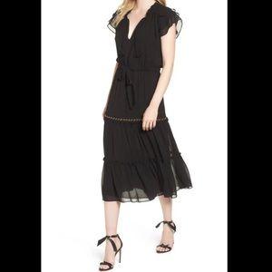 MISA Los Angeles Anis Midi Dress XS NWT
